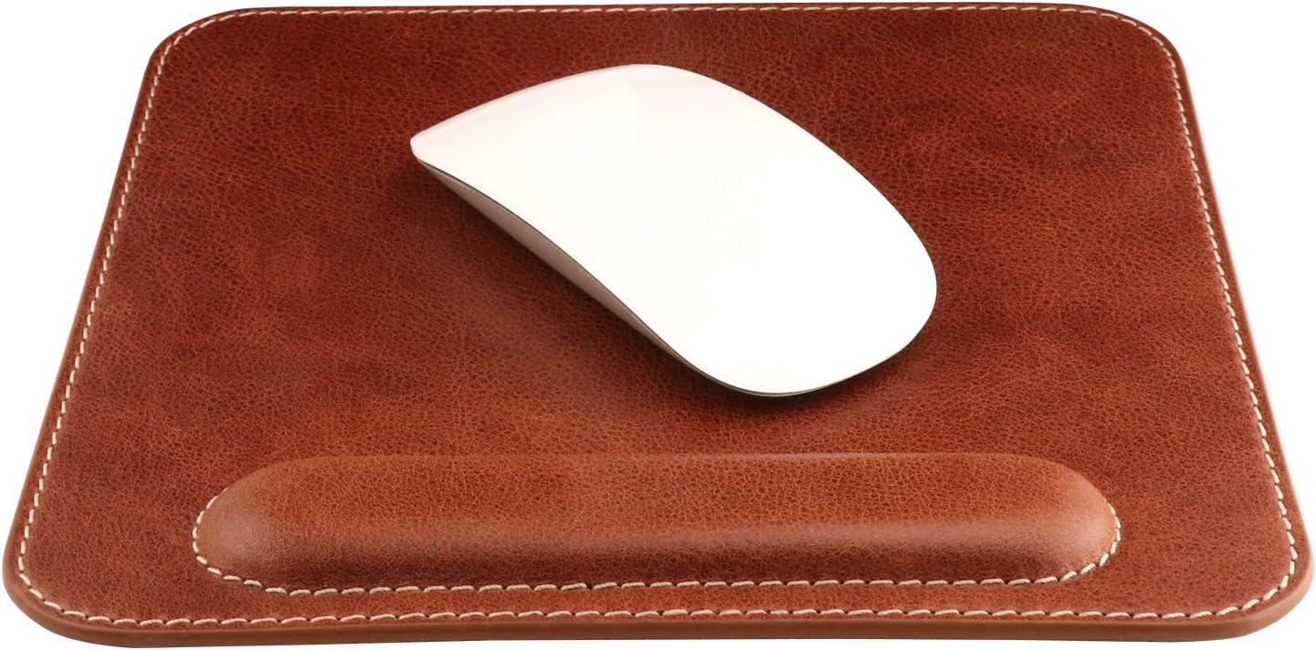 Londo Top Grain Leather Mousepad