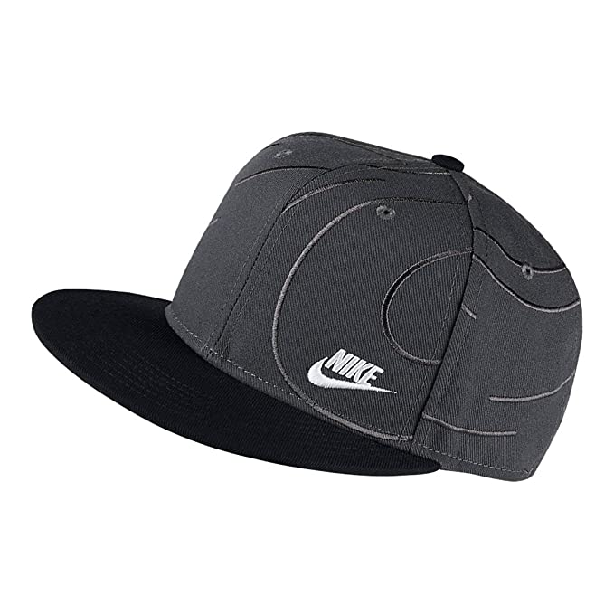 549a7078aee ... sweden nike kids boys sportswear true adjustable hat anthracite black  one size e9a1c b19f2