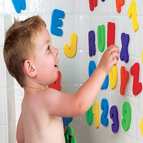 Toys & Hobbies 100% Quality 36-piece Munchkins Child Puzzle Baby Toy Eva Bath Alphanumeric Letters Numbers Bathroom Water Toys Early Educational Kid Toy