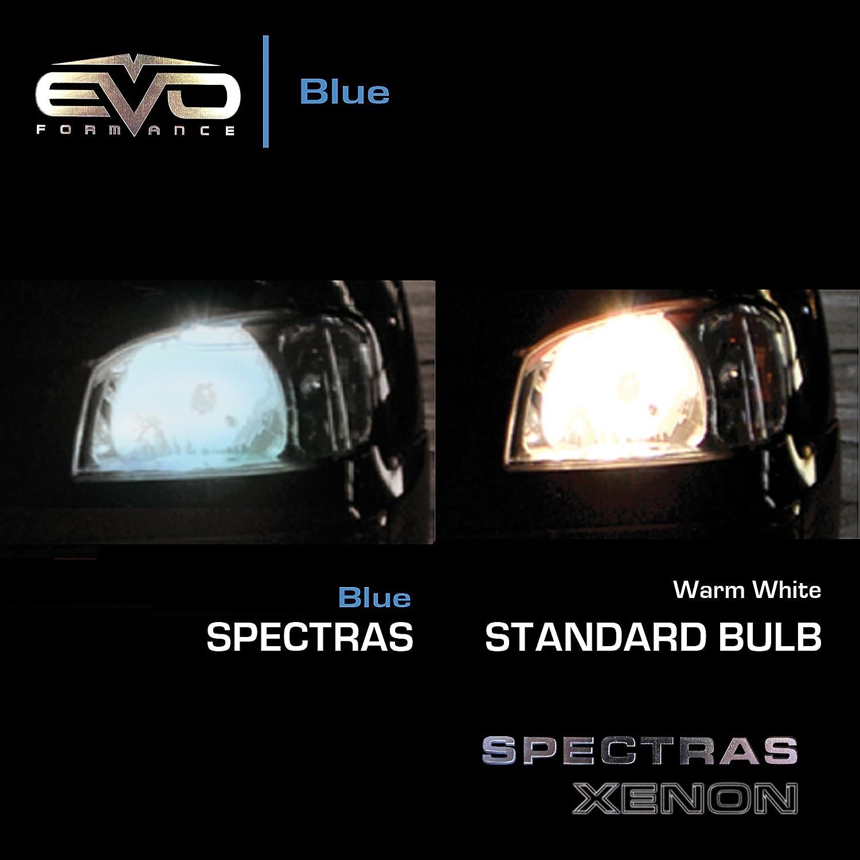 Amazon EVO Formance 93373 Spectras 9007 65 75W90 100W Blue Halogen Bulb