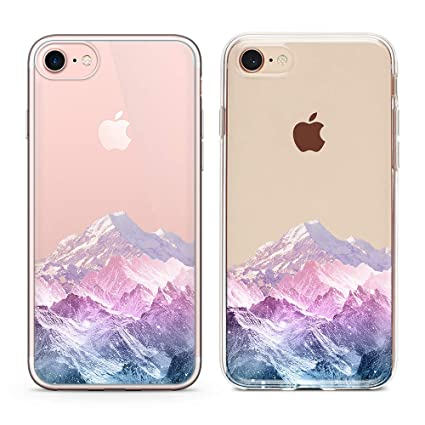 Amazon.com: Carcasa transparente para iPhone 8, iPhone 7 ...