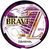 ダイワ(Daiwa) フロロカーボンライン フィネス ブレイブ Z 160m 1号 4lb クリアー