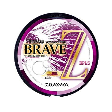 ダイワ(Daiwa)フロロカーボンラインフィネスブレイブZ160m8lbクリアーの画像