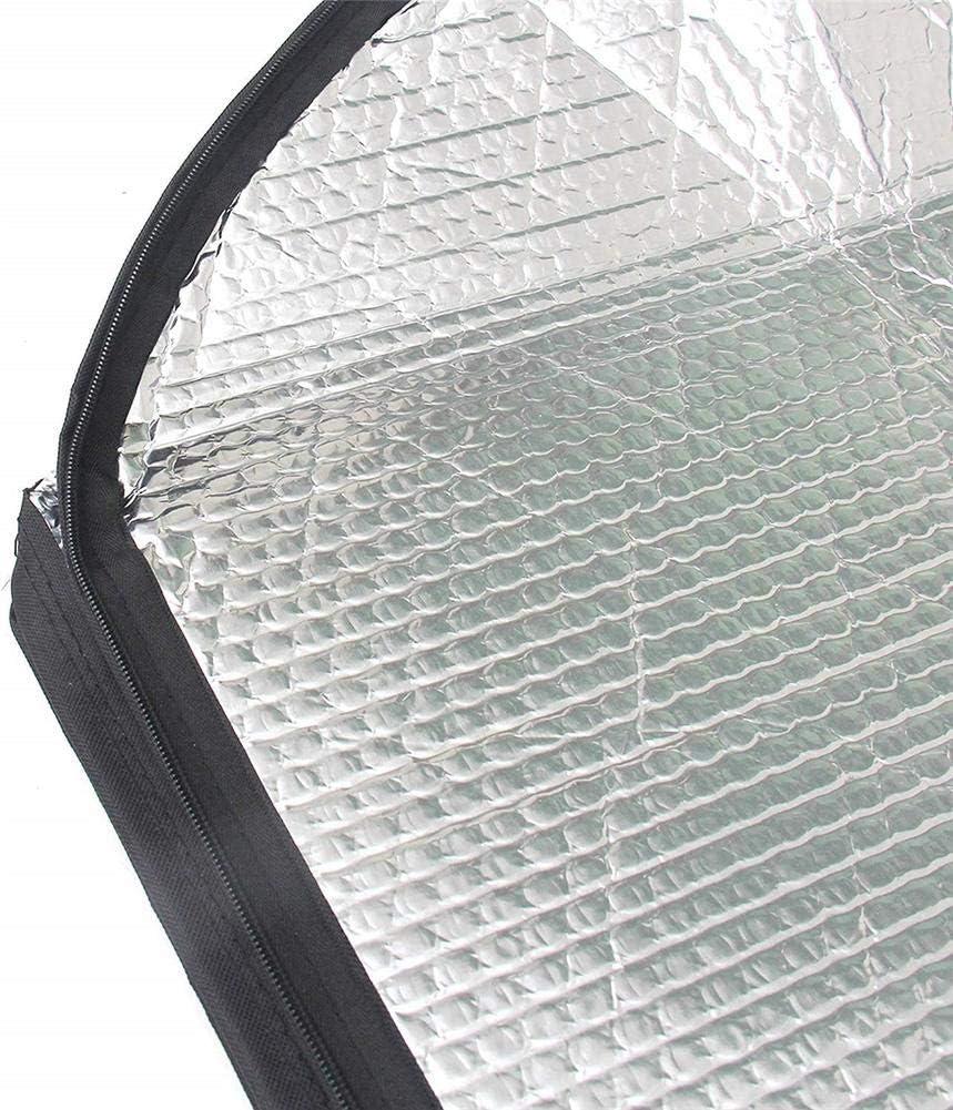 Wintesty B/âche de Toit en Aluminium Double Face avec Fermeture /Éclair