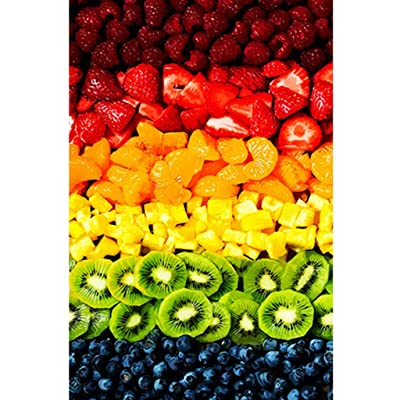 1000 Piece Jigsaw Puzzle for Adults - Colorful Fruit - Parents & Kids Home Puzzle Game Interesting Toys - Kids Intellectual Game Learning Education Toys: Toys & Games