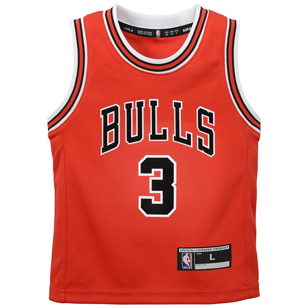 check out c2302 a226f Amazon.com : Outerstuff Dwyane Wade Chicago Bulls NBA Red ...