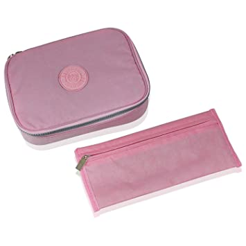 Pencetti Deluxe Pencil Case with Compartments - w/ Bonus Pencil Pouch - The Perfect Holder  sc 1 st  Amazon.com & Amazon.com : Pencetti Deluxe Pencil Case with Compartments - w ... Aboutintivar.Com