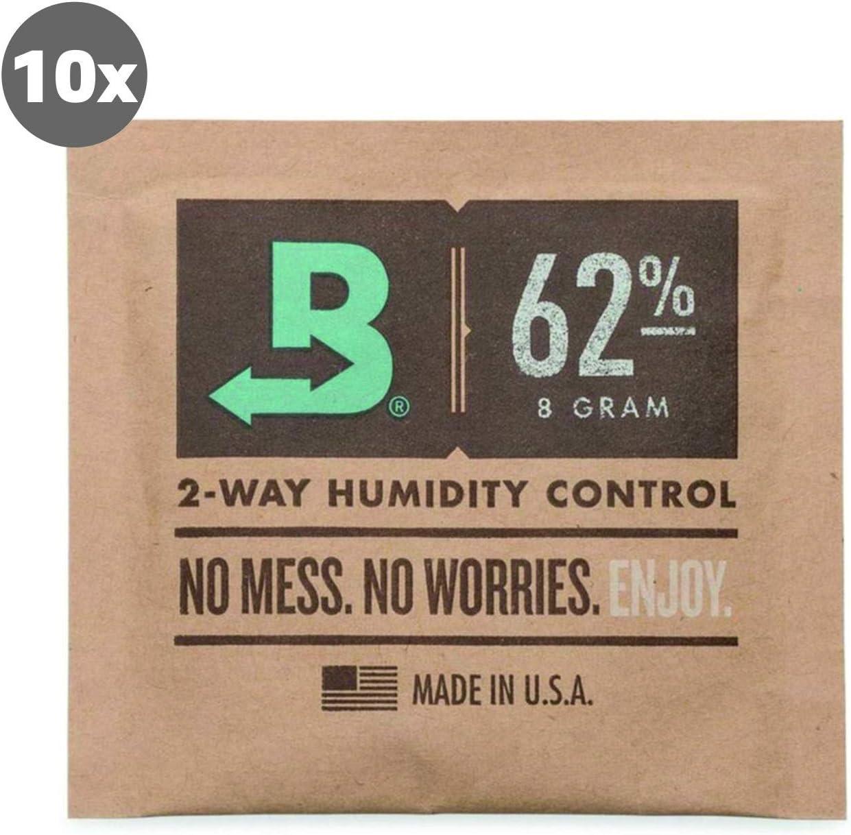 Boveda 10 Humidipak 62% 2-Way Humidifer 8g