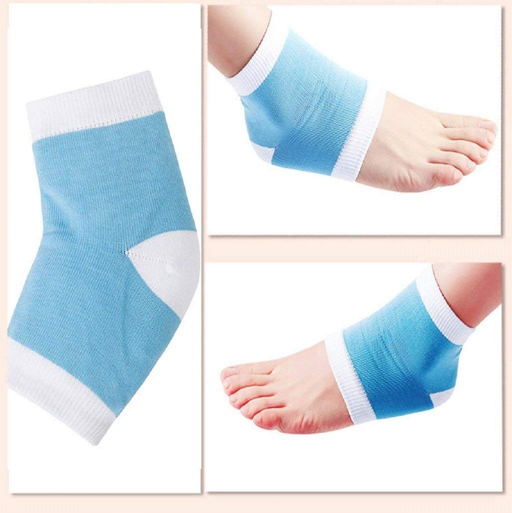Cracked Heel Treatment - Heel Socks - Cracked Heels - Gel Socks - Moisturizing Socks - Callus Feet - 2 Pairs - Ballotte by Ballotte (Image #6)