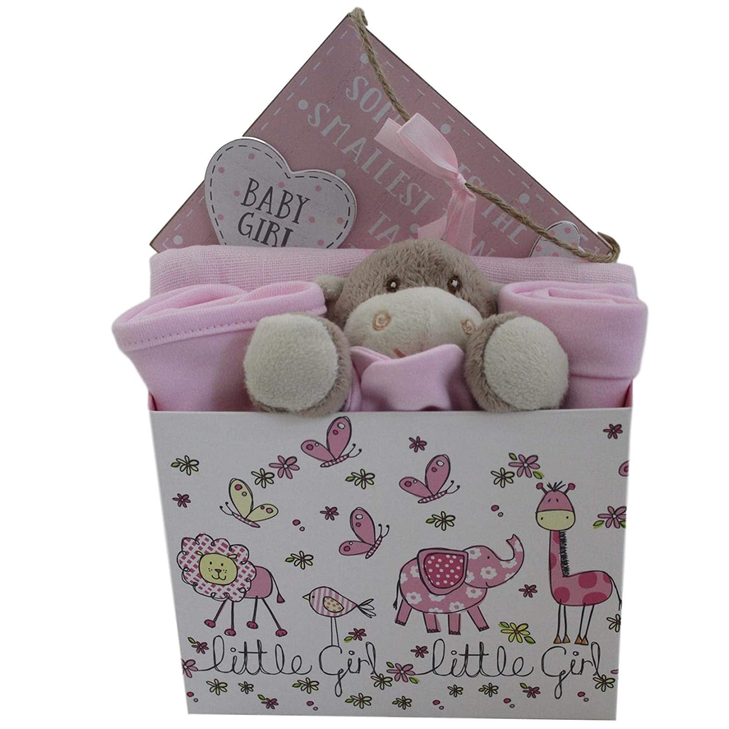 Baby Girl Gift Set Baby Girl Gift Basket Baby Girl Gift Hamper Unique Baby Gift Baskets