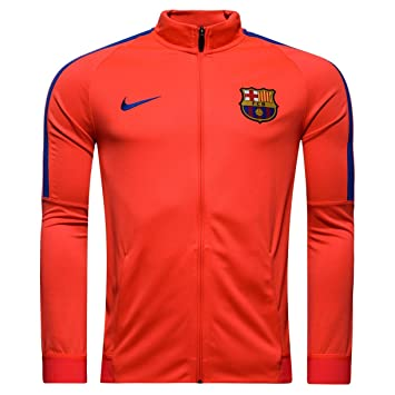 Nike FC Barcelona M Nk Dry Strke TRK Jkt K - Chaqueta para Hombre, Color Rojo, Talla XL: Amazon.es: Deportes y aire libre