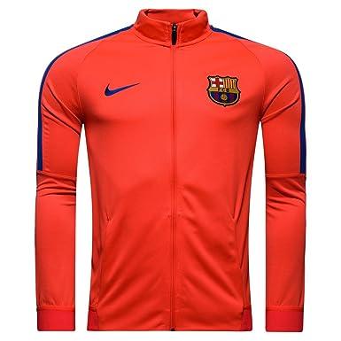 Nike FC Barcelona M Nk Dry Strke TRK Jkt K Chaqueta, Hombre ...