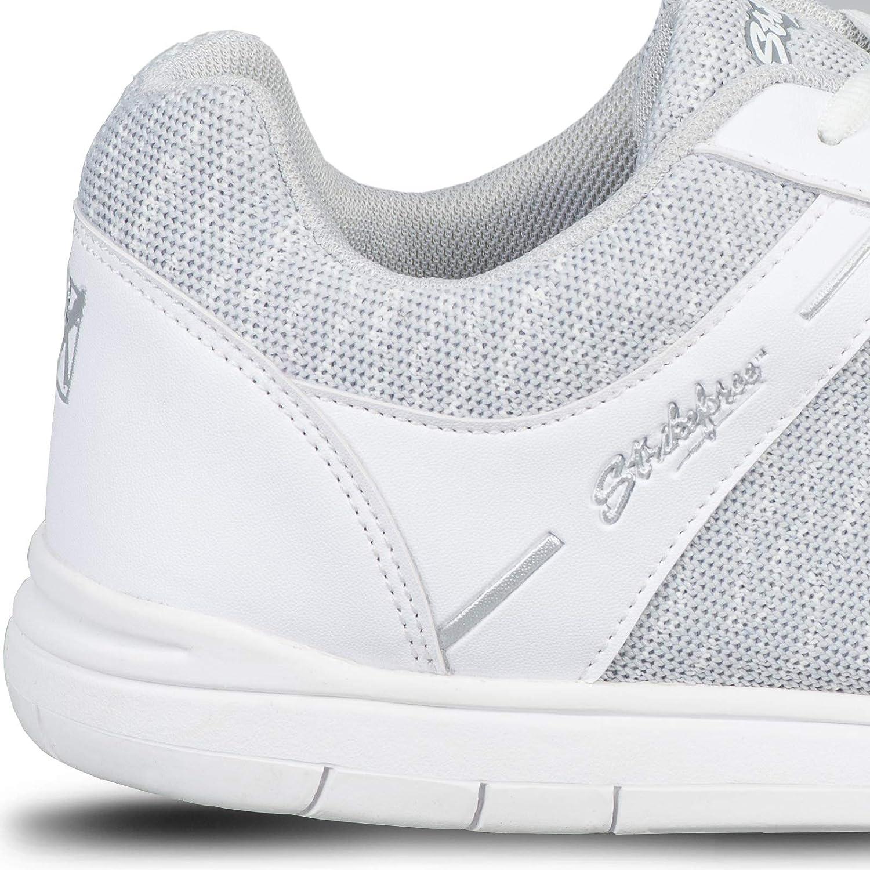 KR Strikeforce Mens Flyer Mesh Bowling Shoes White//Grey 12