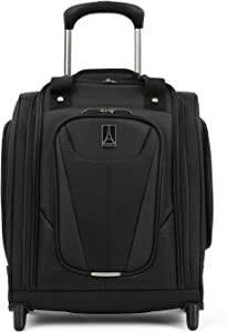 Travelpro Maxlite 5 - Rolling Underseat Compact Carry-On Bag, Black, 15-Inch