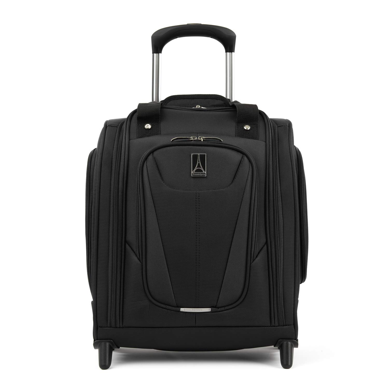 Travelpro Luggage Maxlite 5 15 Lightweight Carry-on Rolling Under Seat Bag, Black