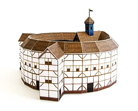 PaperLandmarks Globe Theatre Paper Model Kit