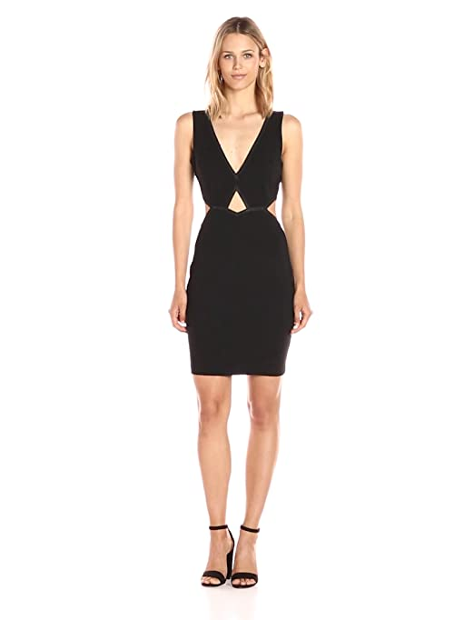 4d1b949d24 GUESS Women s Sleeveless MYA Cut Out Dress at Amazon Women s Clothing store