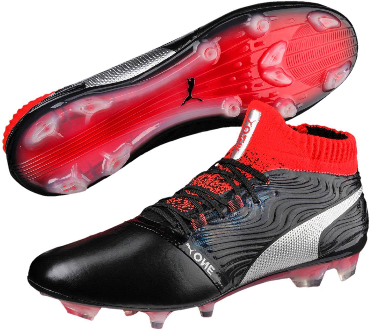 554f3776fdcc Amazon.com  PUMA Mens One 18.1 FG Soccer Shoes  Shoes