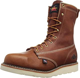 """product image for Thorogood Men's American Heritage 8"""" Round Toe, MAXWear Wedge Non-Safety Toe Boot"""