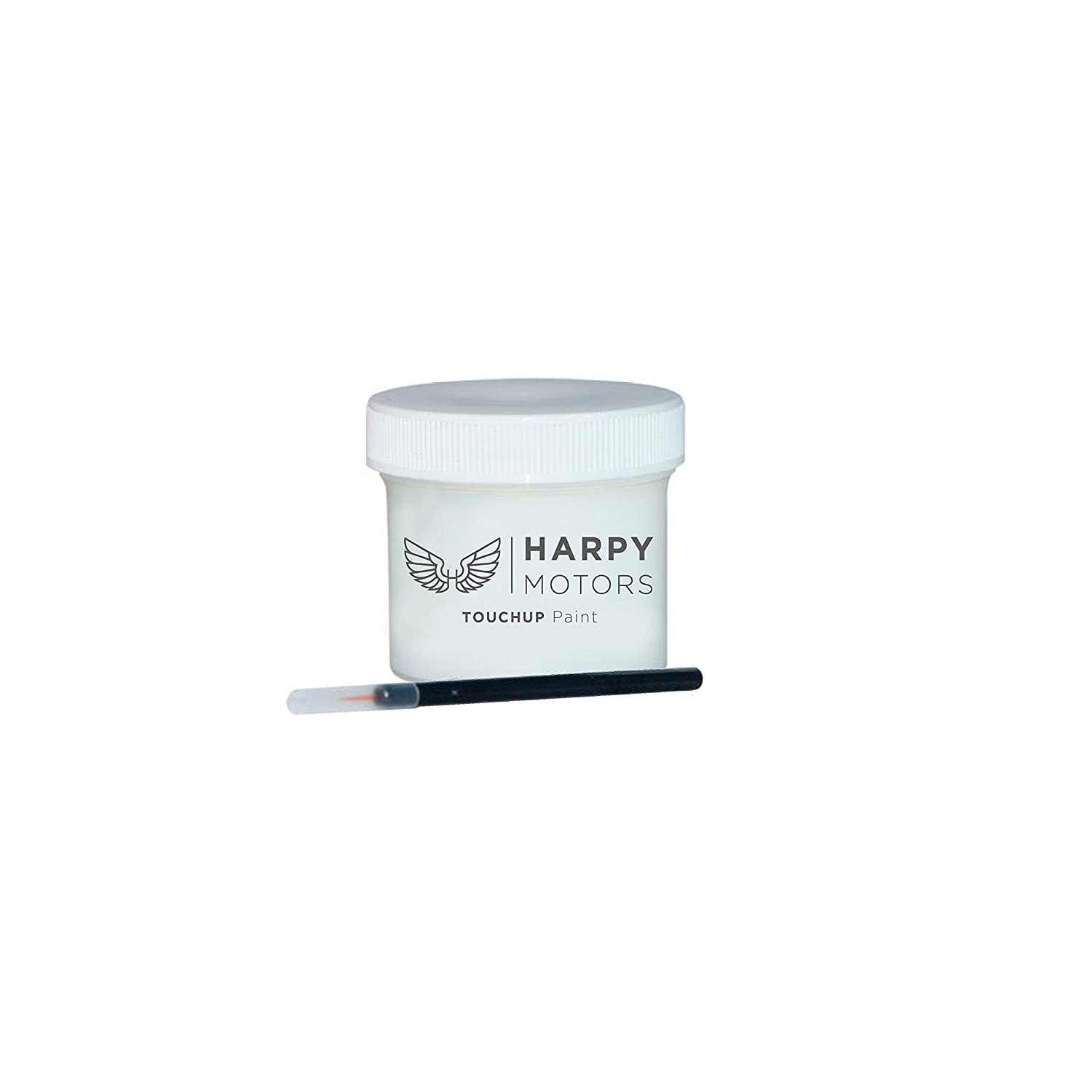 Harpy Motors 2015-2018 Honda Fit NH788P Orchid White Pearl Automotive 2oz Touch up Paint with Brush -Color Match Guaranteed
