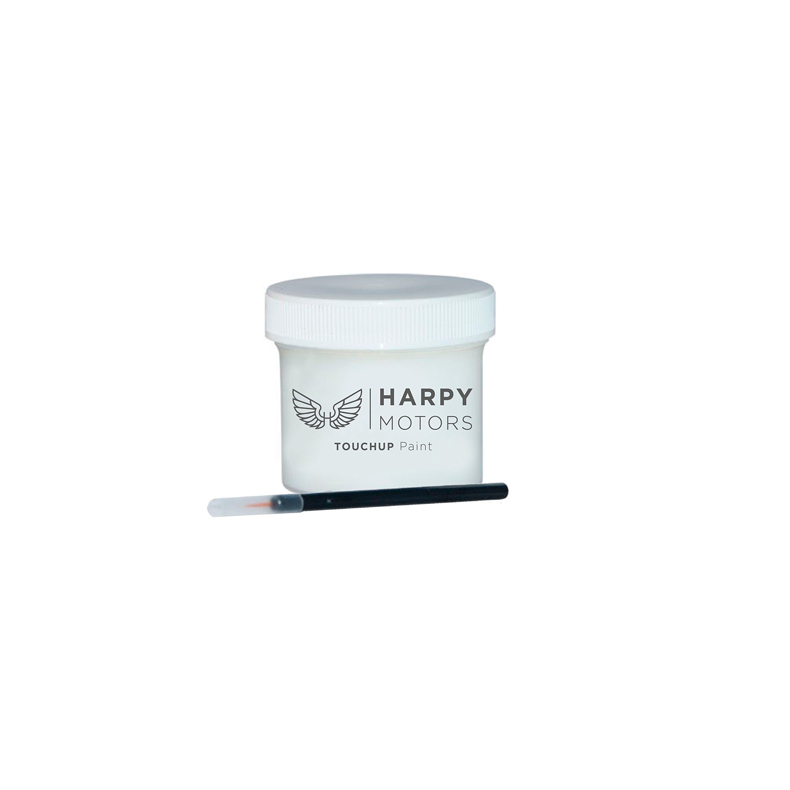 Harpy Motors 2010-2015 GMC Sierra 800J White Diamond Pearl Automotive 2oz Touch up Paint with Brush -Color Match Guaranteed by Harpy Motors