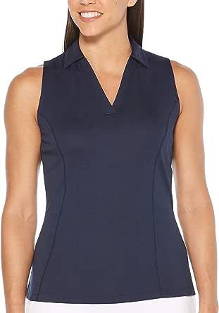 PGA TOUR Women's Sleeveless Airflux Polo Shirt