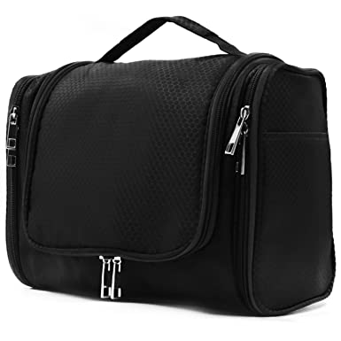 914f02486772 Amazon.com  Extra Large Capacity Hanging Toiletry Bag for Men ...