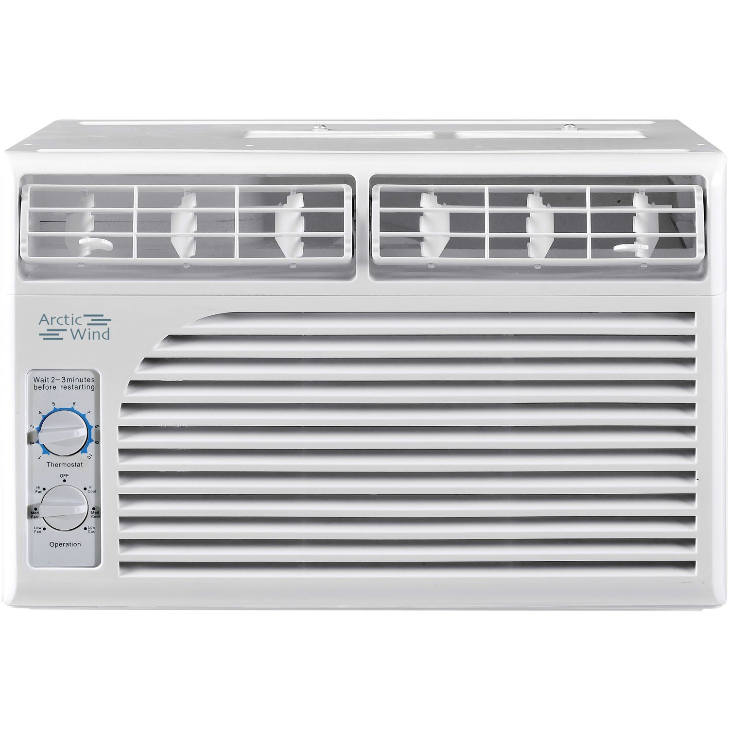 ARCTIC Wind 5,000 BTU Window Air Conditioner with Mechanical Controls, ba by ARCTIC