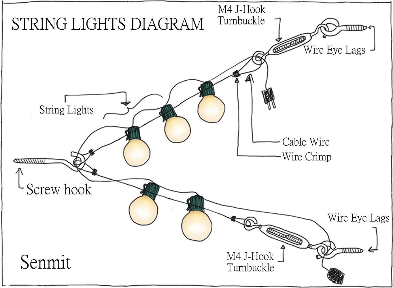 string wire 5 light wiring diagram wiring diagram