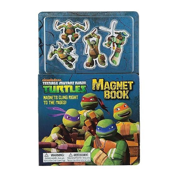 Century Teenage Mutant Ninja Turtles Magnet Book: Amazon.es ...