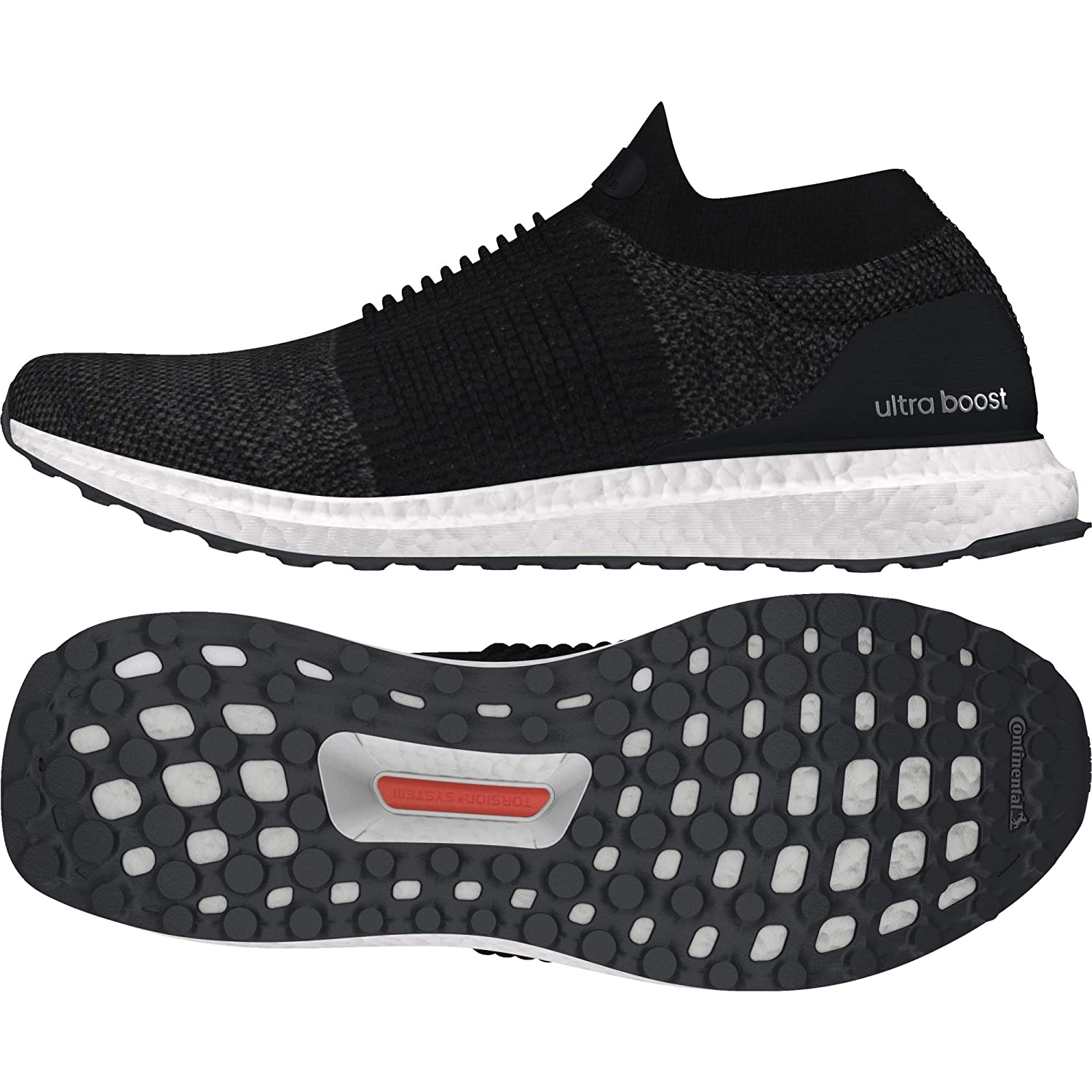 new concept 6200e a0a0b Adidas Women s Ultraboost Laceless W Cblack Running Shoes-8 UK India (42  EU) (BB6311)  Amazon.in  Shoes   Handbags