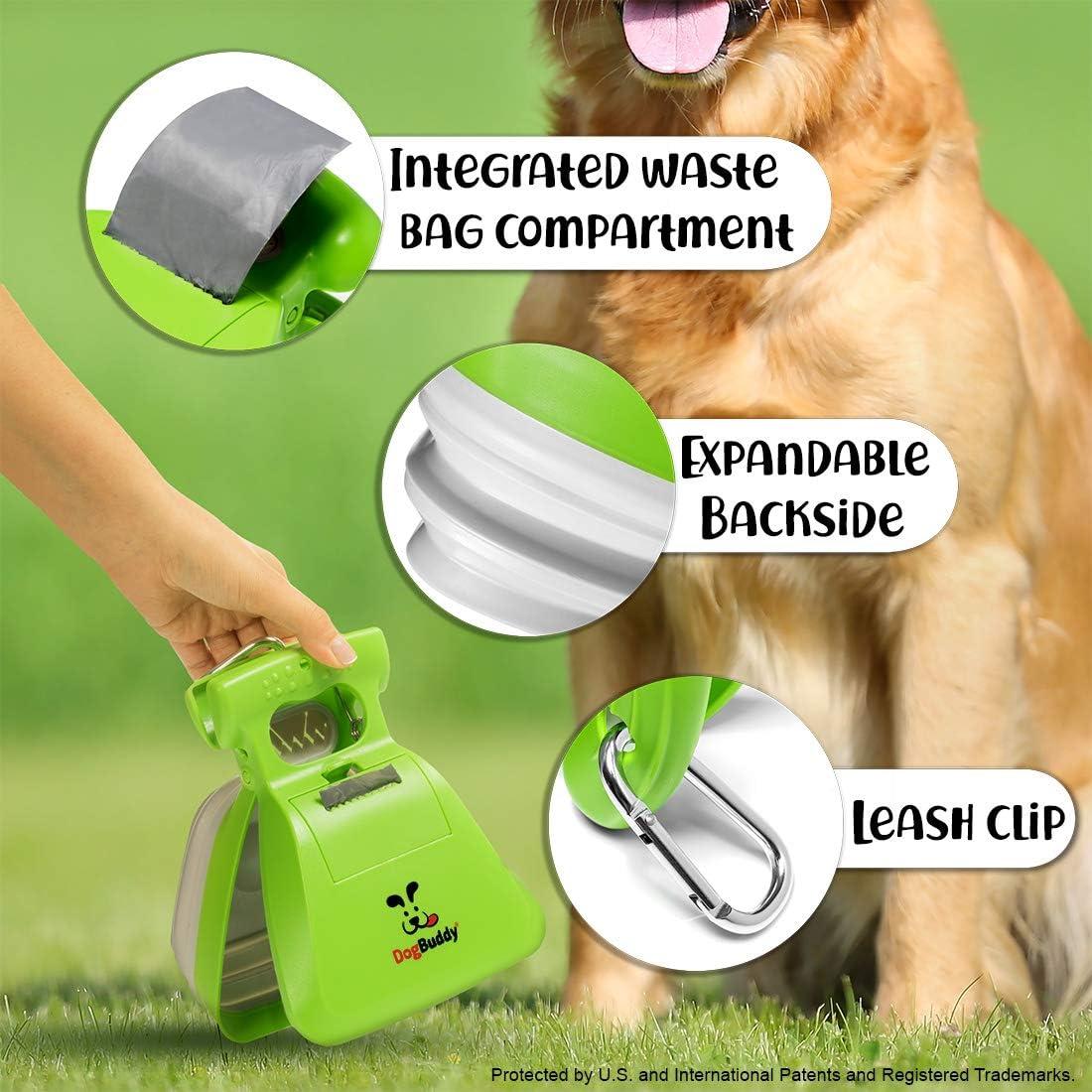 Medium Dog Poop Scooper with Waste Bag Dispenser Portable Poop Scoop Small DogBuddy New Pooper Scooper Kiwi Medium or Large Dog Pooper Scooper