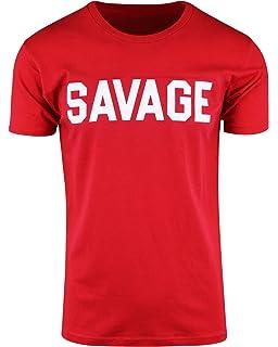 Mens Savage Shirts Hip Hop Culture Urban Apparel