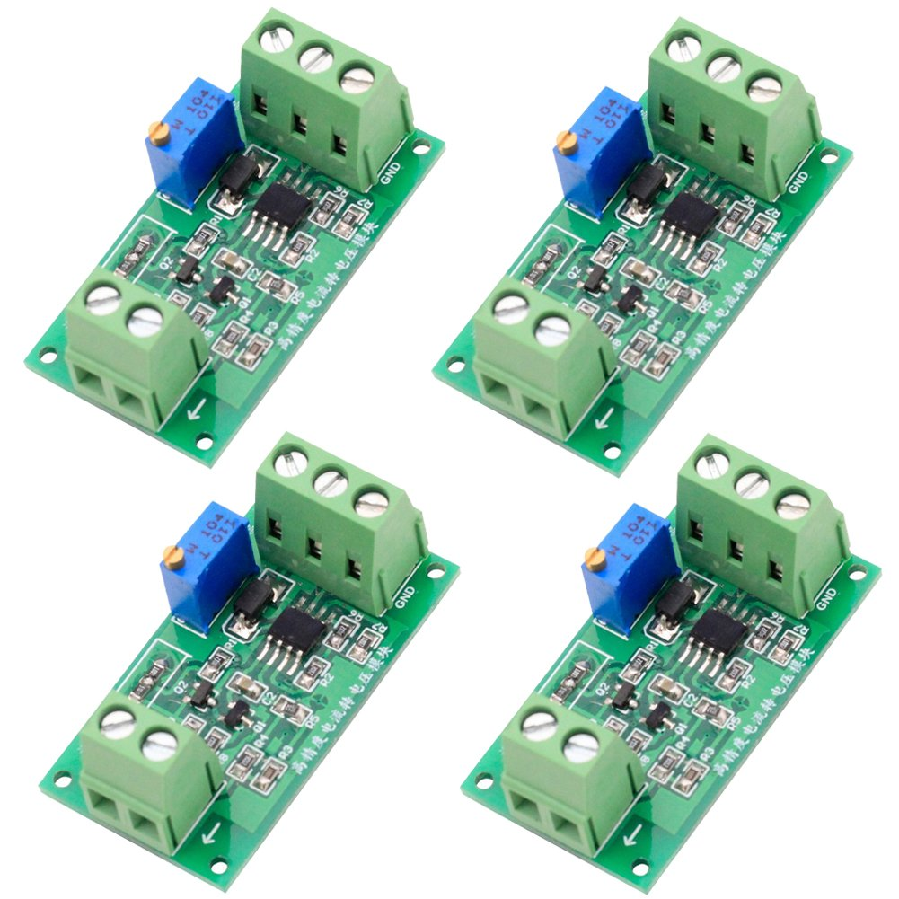 Icstation 4 20ma To 0 5v Current Voltage Converter Isolated I V Simple Currenttovoltage Circuit Diagram Electronic Conversion Module Pack Of Industrial Scientific