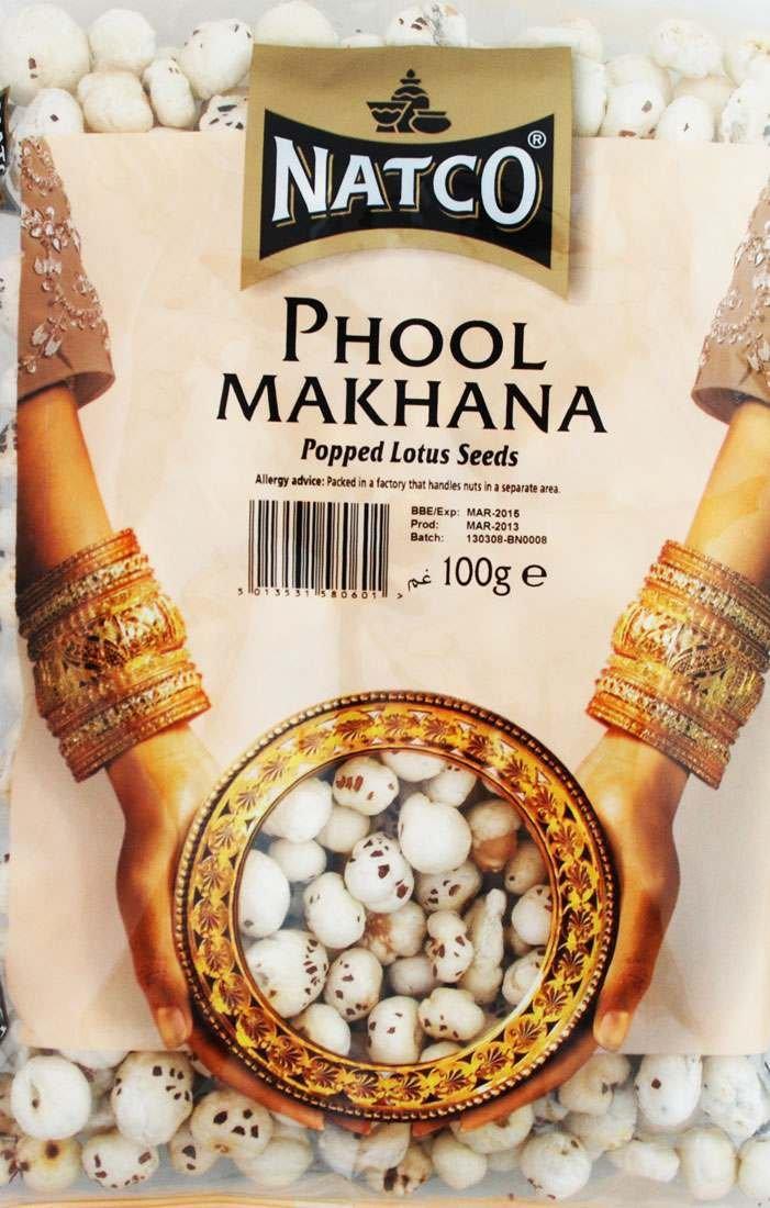Natco Phool Makhana (Popped Lotus Seeds) 100g
