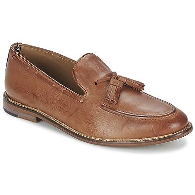 f08019b4d5c Ben Sherman Mens ALFR City Loafer Cognac Loafers 12  Amazon.co.uk ...