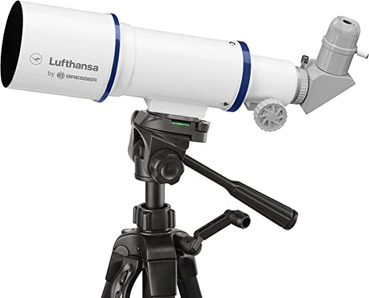 Lufthansa Viaje 70//350/Lufthansa Refractor Viaje telesc/ópica 70//350/con tr/ípode oculares y Prisma de Amici