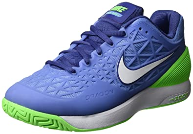 buy popular 092f9 cd171 Nike WMNS Zoom Cage 2, Chaussures spécial Tennis pour Femme Bleu 36 1 2