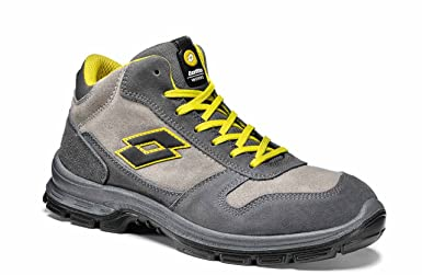 Lotto Works - Zapato de seguridad hombre Basket confortable S3 Lotto Sprint Mid II 850, 41, gris, 1: Amazon.es: Industria, empresas y ciencia