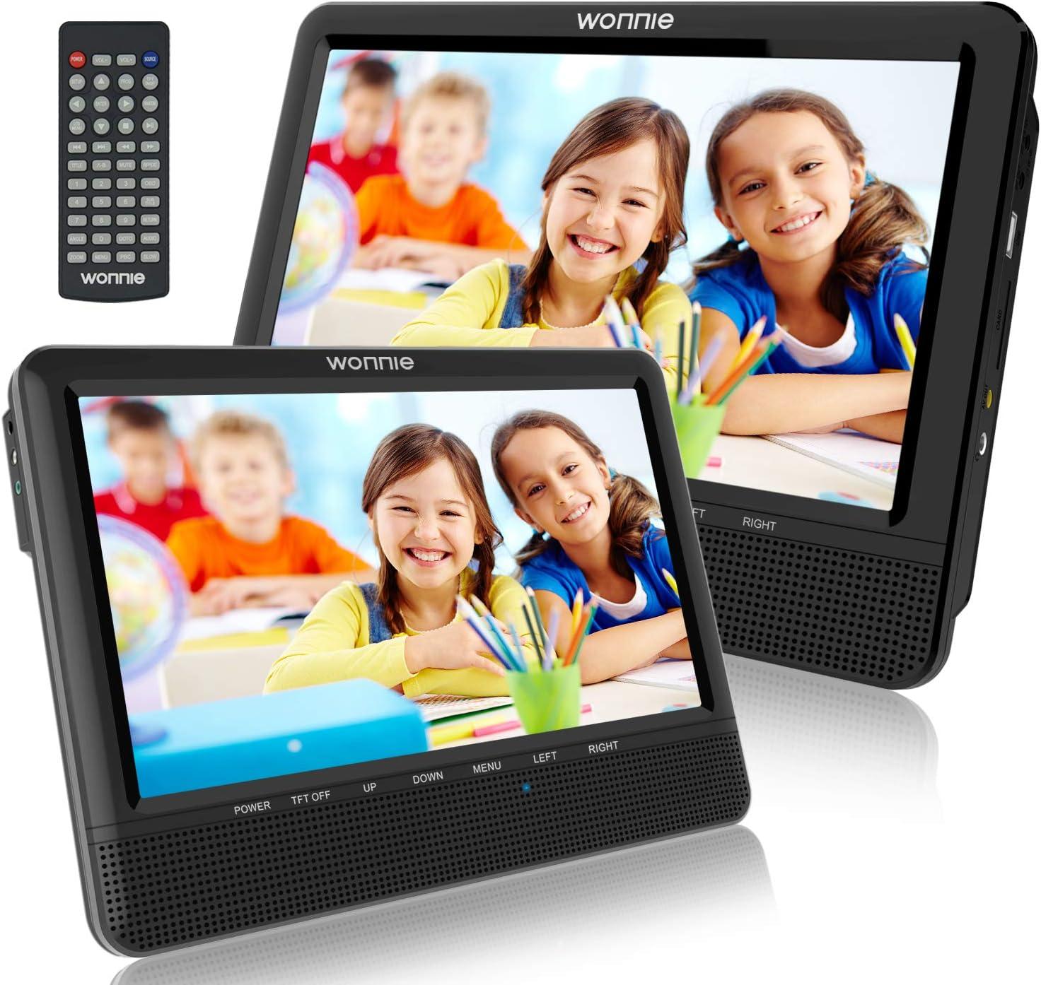 Wonnie 10 Auto Dvd Player 2 Monitore Auto Tragbarer Elektronik