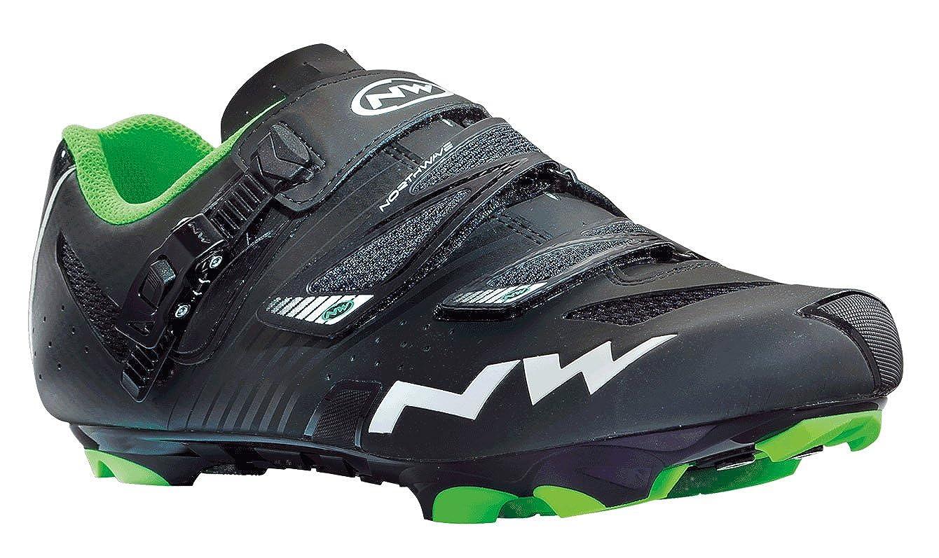 Zapatillas MTB Northwave Hammer SRS Negro Mate 2014: Amazon.es: Zapatos y complementos