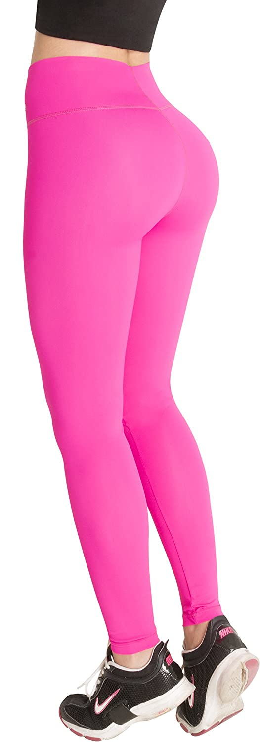 4649f8132be18 These Butt Lifter Sports Leggings with Internal Body Shaper Levanta Cola ...