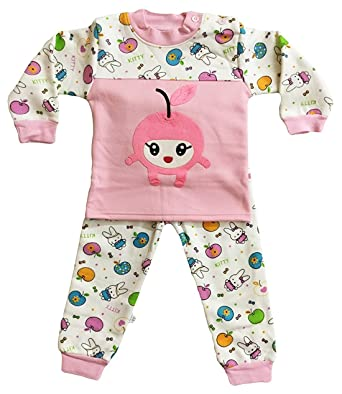 381faacd5 Amazon.com  ICABLE Baby Boys Baby Girls Kids Winter Wear Night Suit ...