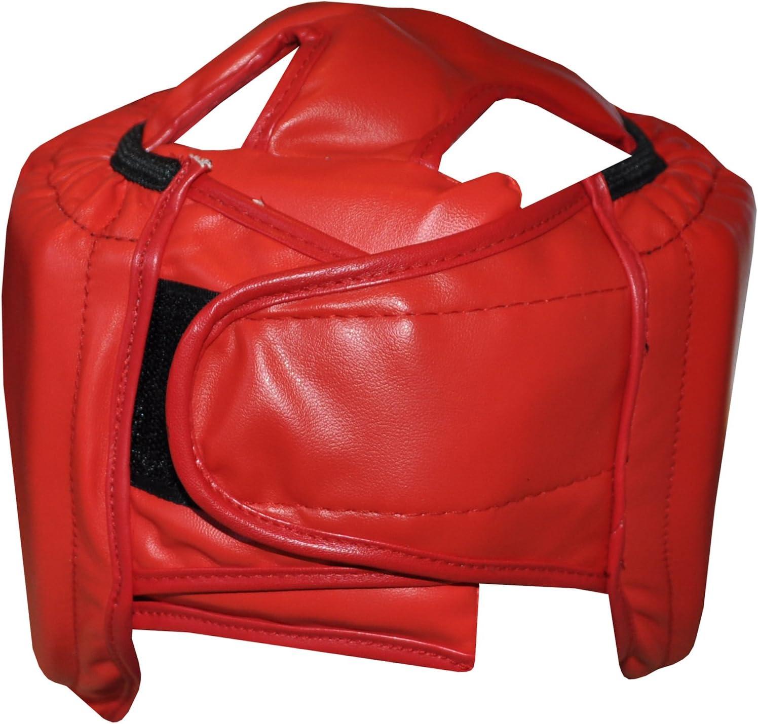 Komonee Adult Boxing Head Guard Full Face Helmet Protection MMA Martial Arts Muay Thai