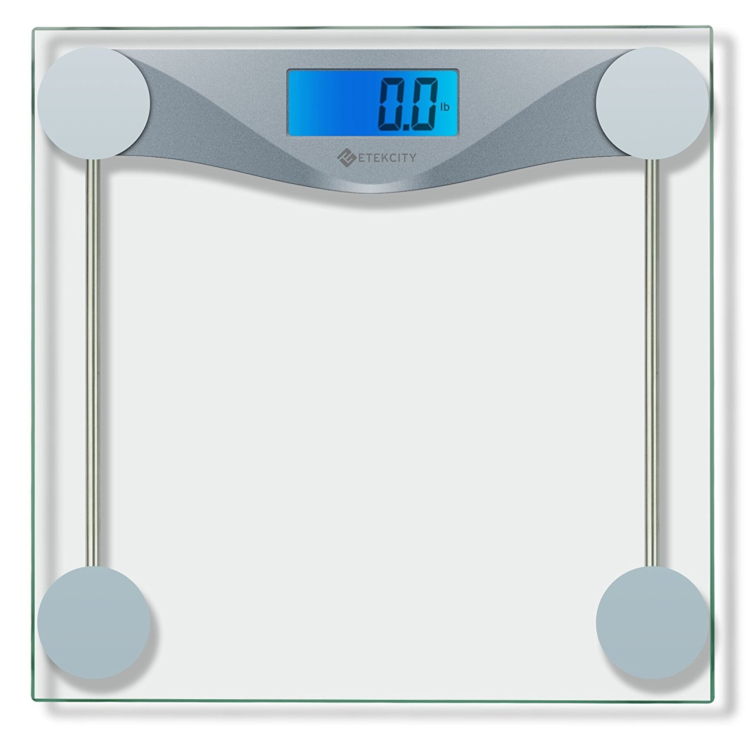 Amazon scale bathroom - Amazon Com Etekcity Digital Body Weight Bathroom Scale With Body Tape Measure Tempered Glass 400 Pounds Scales Health Personal Care