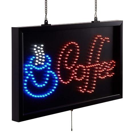Amazon.com: Table Top King - Cartel de café con luz LED ...