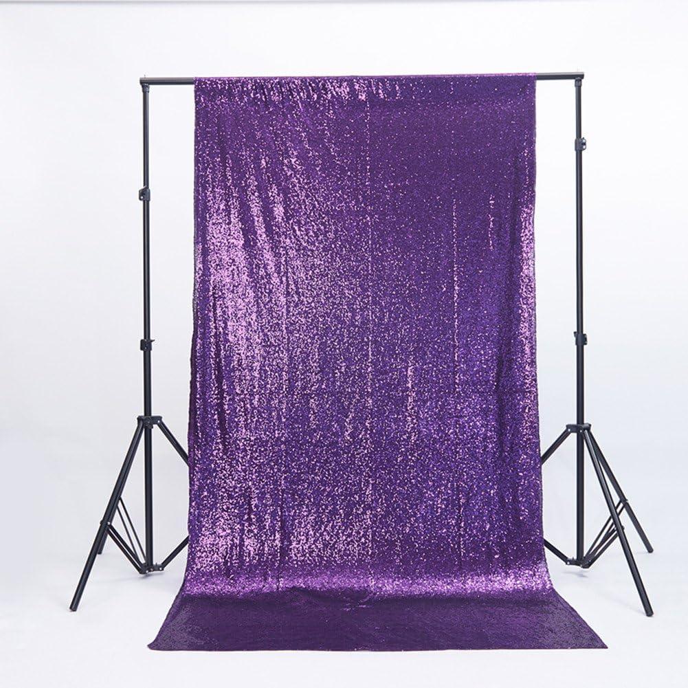 rose Yzeo Toile de fond /à paillettes pour studio photo 4ftx6ft Autre