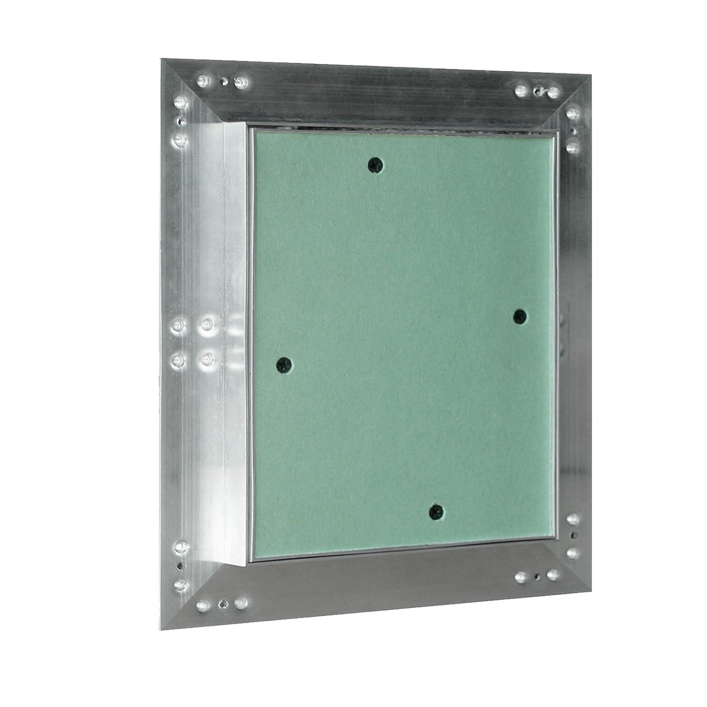 Revisionsklappe Aluminium Rahmen 20x20cm 12,5mm Einlage GK Gipskarton Revisionst/ür Alu