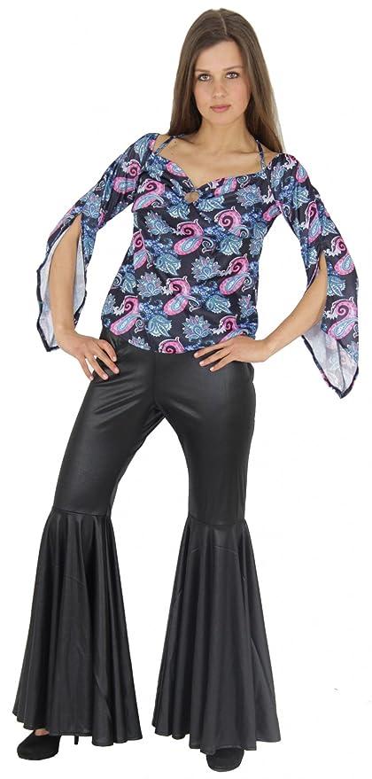 Foxxeo Traje Hippie de los años 60s 70s para Damas ...