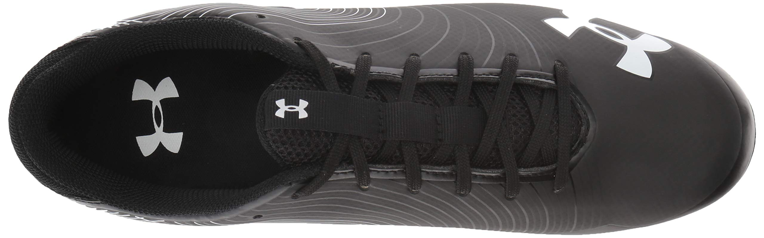 Under Armour Men's Speed Phantom MC Football Shoe Black (001)/White 6.5 by Under Armour (Image #8)